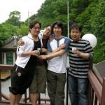 2007년 봄야유회 남직원
